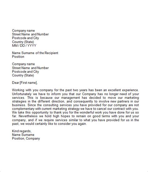 formal business letter format 19 free documents in word pdf sle templates