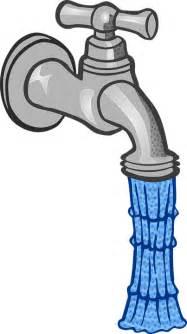 wasser aus wasserhahn kostenlose vektorgrafik cliparts ausgabe wasserhahn