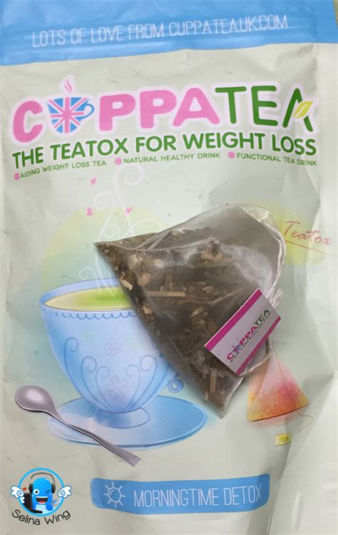 Leaf Detox Near Me by Review Cuppatea 14 Days Teatox Selina Wing Deaf