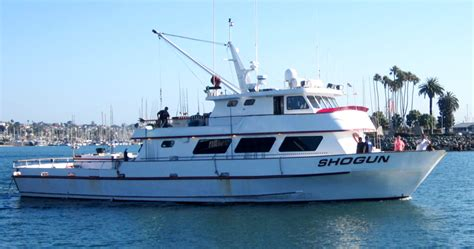 best sport fishing boat in san diego shogun sportfishing san diego ca captain aaron barnhill