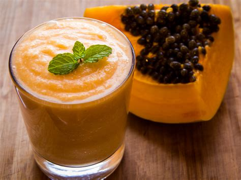 Papaya Seed Detox Recipe by Delicious Papaya Detox Smoothie Michael Andrew Arata Md
