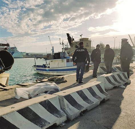 cronaca di porto empedocle morto per annegamento il pescatore di porto empedocle