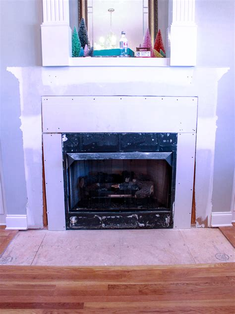 Removing Tile From Fireplace Surround by How To Remove Fireplace Tiles Chaotically Creative