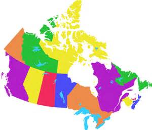 map of canada coloured derietlandenexposities