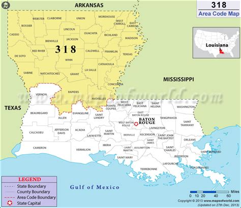 usa map with area codes 318 area code map where is 318 area code in louisiana