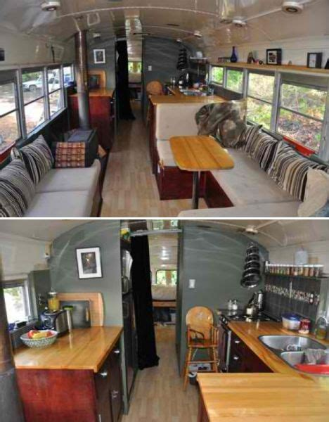 old school bus conversions interior bus conversions small but beautiful showcase of tiny houses beautiful