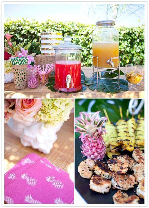 food ideas for tropical wedding shower 2 41 best hawaiian luau themed hen images on
