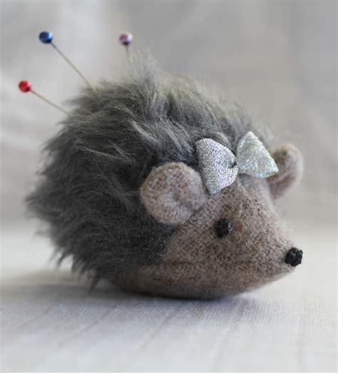 hedgehog home decor home decor maker land hedgehog pincushion thread