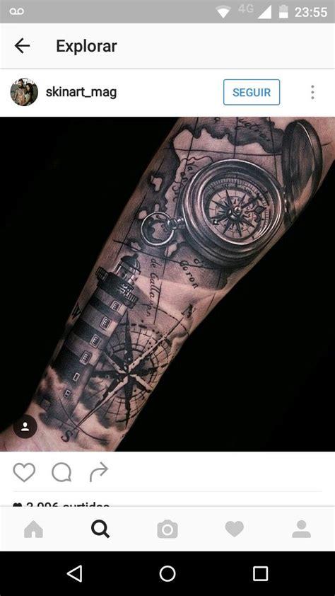 nautical tattoo sleeve designs oltre 25 fantastiche idee su tatuaggi faro su