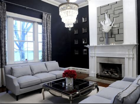 Black And Gray Living Room by And Gray Living Rooms Panda S House