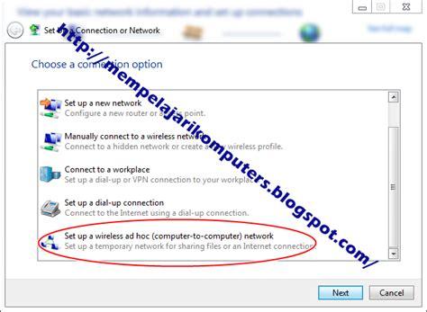 cara membuat repeater sinyal wifi belajar komputer cara membuat sinyal wifi di pc laptop