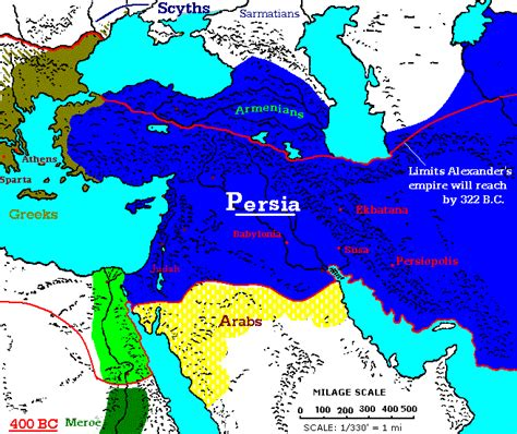 middle east map bc 400 300 bc