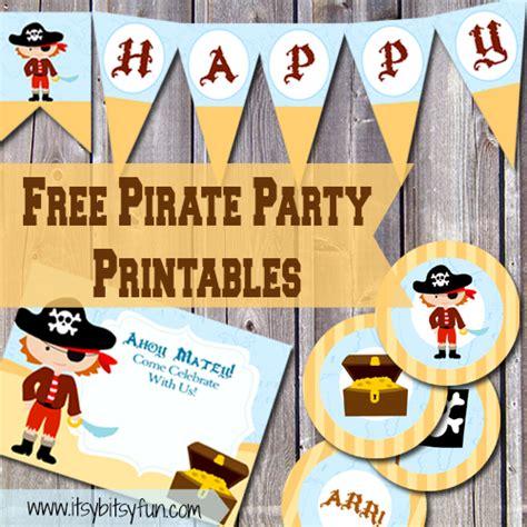 printable pirate birthday decorations free printable pirate party supplies pirate party