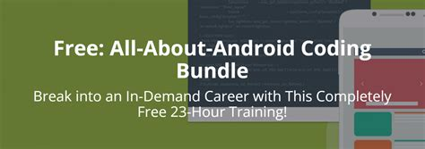 all about android cult of android get the all about android coding bundle free for a limited time deal cult