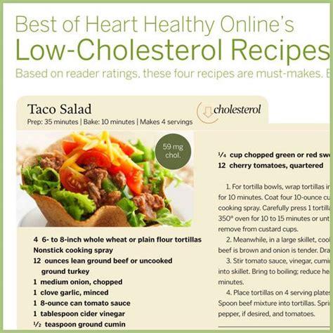 low cholesterol recipes food pinterest