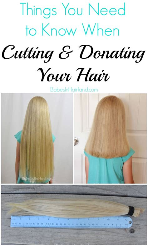 donate hair things you need to know when cutting donating your hair