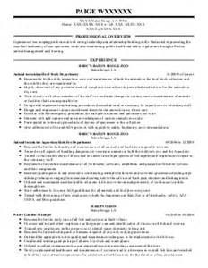 Sample Resume For Zoologist by Resume Format Zoology Resume Examples