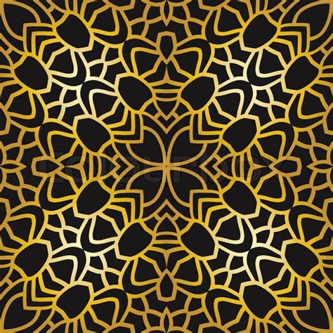 vector pattern art deco seamless pattern with abstract pattern in art deco style