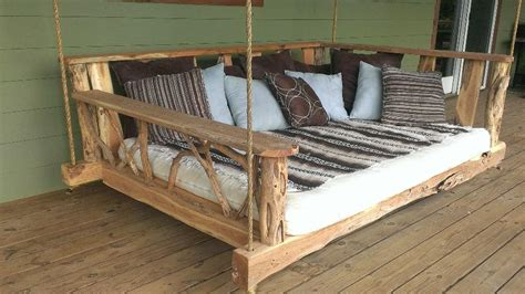 twin bed swing plans rustic porches on pinterest cabin porches country