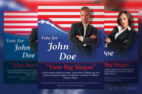 election posters templates political election flyer flyer templates on creative market