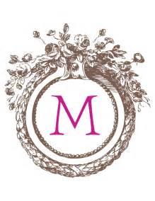 create monogram initials polkadot notebook monogram