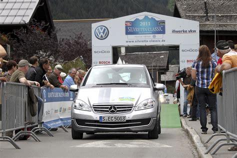 Rally Auto Klassen by Auf Die Hundertstel Genau Daimler Stellt Bei Silvretta E
