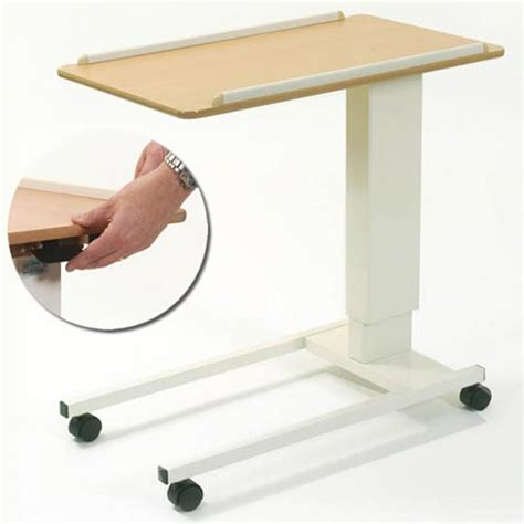 assisted lift overbed chair table household tables
