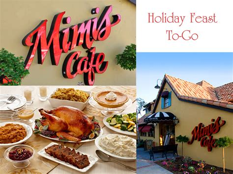 Memes Cafe - holiday meals on the go with mimi s cafe