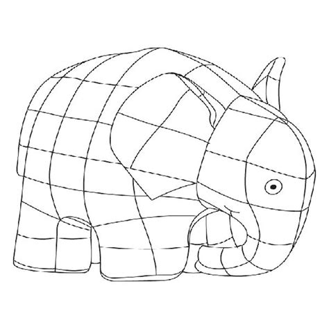coloring page for elmer the elephant elmer the elephant coloring page bestappsforkids com