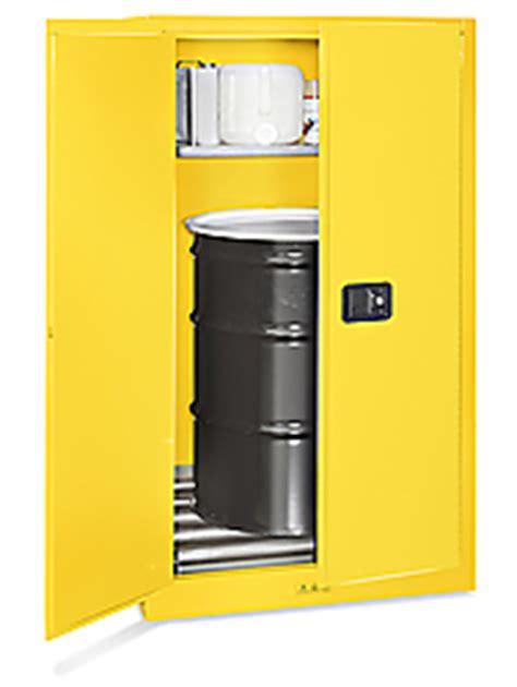 flammable drum storage cabinet manual doors 55 gallon h