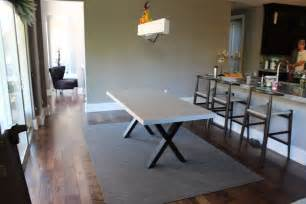 concrete dining room table concrete dining table truecrete