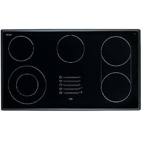 36 Electric Cooktop Shop Dacor Discovery 5 Element Smooth Surface Electric