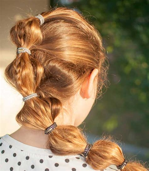 bubble hairstyle pictures how to create bubble ponytail hairstyle