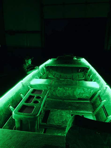 duck hunting boat lights green led loading lights duck boats pinterest duck