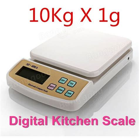 Timbangan Digital Sf 400 Kitchen Scale 10 Kg Include Baterai 10kg 1g sf 400a digital scale for household electronic kitchen scale weighing scale with