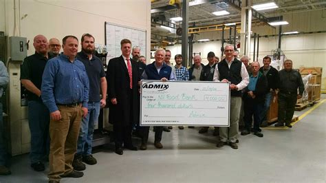 Nh Food Pantry by Admix Continues Its Tradition Of Giving With N H Food Bank