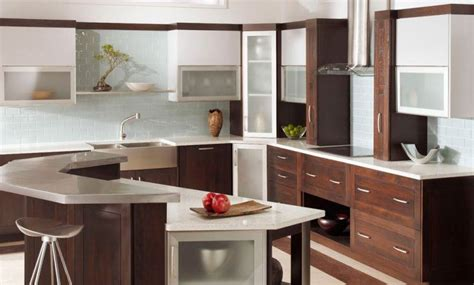 frosted kitchen cabinet doors 10 beautiful kitchens with glass cabinets