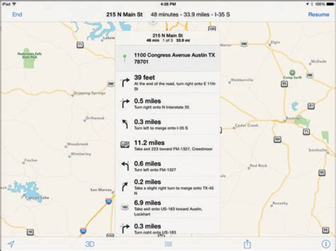 print driving directions ipad how to get route maps and driving directions on the ipad