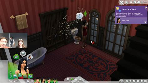 have 3 sims rest eyes on a couch sims 4 let s play day 3 parties and pregnancy simcitizens