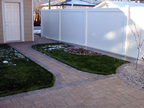 maintenance free backyard maintenance free yard with artificial turf and brick patio