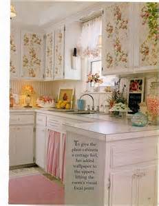 Cottage Style Kitchen Curtains Eye For Design Decorating Vintage Cottage Style Interiors