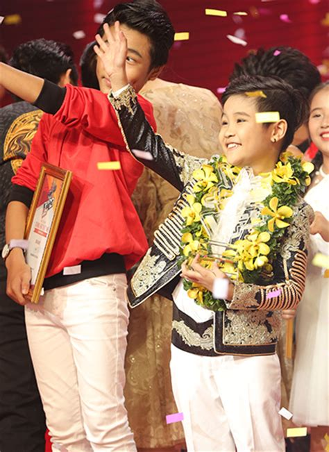 trinh nhat minh the voice hanoi boy wins the voice kid with traditional opera new