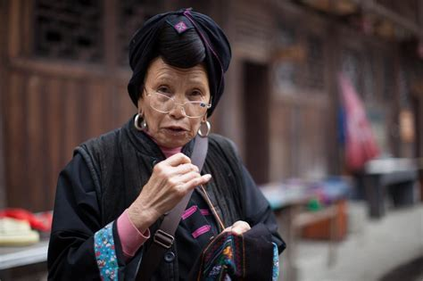 how are women in their 60s supposed to dress in pictures china s yao community al jazeera