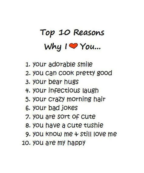 10 Reasons I Like Cataclysm by Card Top 10 Reasons Anniversary Card