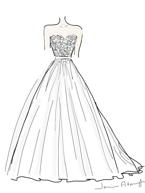 Brautkleider Zeichnen by How To Design A Wedding Dress Designer Wedding Dresses