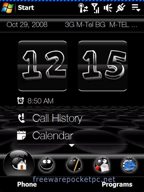 download cute themes for mobile phone theblacy theme freeware for windows mobile phone