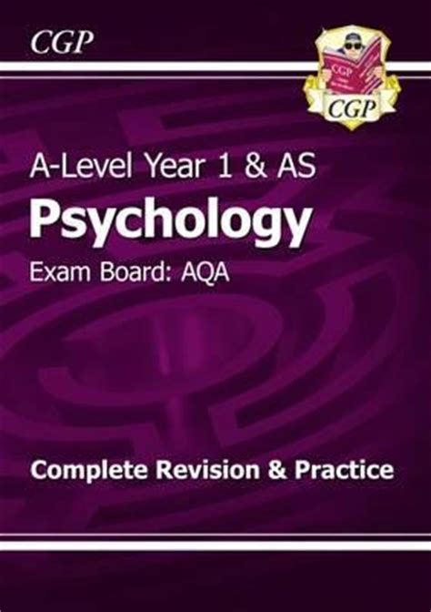 aqa a level philosophy year new a level psychology aqa year 1 as complete revision practice cgp books 9781782943297