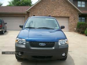 Ford Four Wheel Drive 2007 Ford Escape Hybrid 4 Wheel Drive