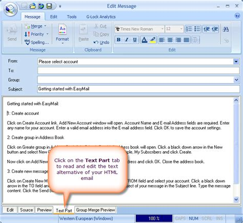 format email mime using the multipart alternative mime format email