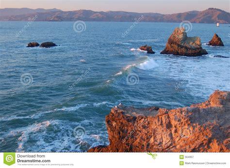 South Shores Detox California by California Shoreline Royalty Free Stock Photography